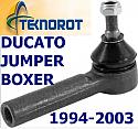KOŃCÓWKA DRĄŻKA KIEROWNICZA FIAT DUCATO CITROEN JUMPER PEUGEOT BOXER 1994-2003r