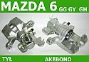 ZACISK HAMULCOWY TYLNY PRAWY MAZDA 6 GG GY 02-0   GH  07-