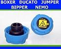 KOREK CHŁODNICY ZBIORNICZKA JUMPER 06- NEMO DUCATO BIPPER BOXER