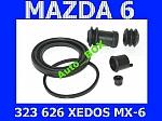 ZESTAW NAPRAWCZY REPERATURKA ZACISKU PRZEDNIEGO MAZDA 323 626  6 XEDOS 6 PREMACY MX-6 FORD Probe II