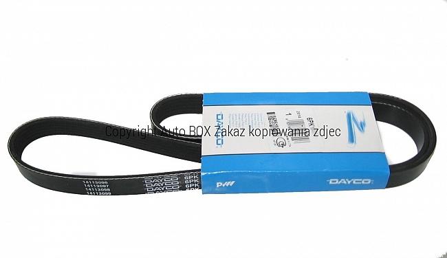 PASEK KLINOWY MICRO-V WIELOROWKOWY 6PK1836S BMW E90 E91 E87