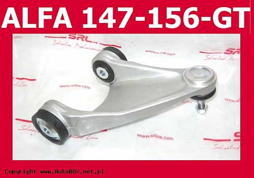 WAHACZ PRZEDNI GÓRNY PRAWY ALFA ROMEO 147 156 GT