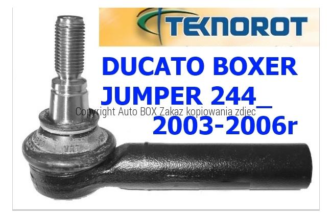 KOŃCÓWKA DRĄŻKA KIEROWNICZA DUCATO BOXER JUMPER 244 2003-2006