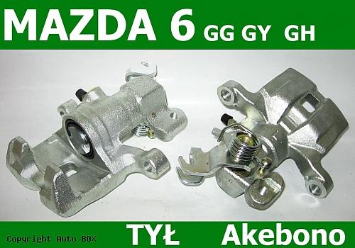 ZACISK HAMULCOWY TYLNY LEWY MAZDA 6 GG GY 02-0   GH  07-
