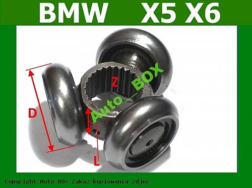 KRZYŻAK TRIPOD PRZEGUB WEWNETRZNY BMW X5 E53 E70 X6 E71/E72