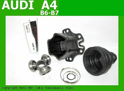 PRZEGUB WEWNĘTRZNY KRZYŻAK AUDI A3 A4 B6 B7 A5 SEAT EXEO VW BORA GOLF IV-V