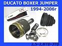 PRZEGUB WEWNĘTRZNY LEWY DUCATO BOXER JUMPER 14-15Q 1994-2006