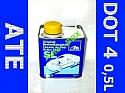 Płyn hamulcowy firmy ATE - TEVES norma DOT-4 typ SL Pojemność 0,5L